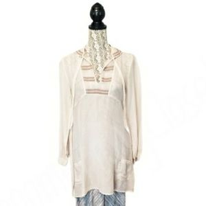 Johnny Was Pete & Greta, Embroidered Boho Tunic